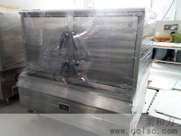 亲和力24盘双门电磁蒸饭柜厂家