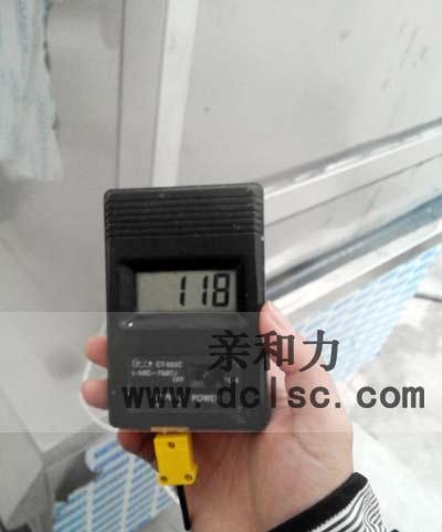 亲和力商用电磁蒸饭柜炉内温度测试