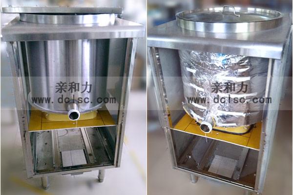 亲和力商用电磁炉连体汤炉批量生产