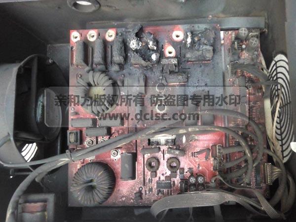 低配置商用电磁炉机芯炸机收集图片