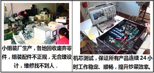 亲和力商用电磁炉机芯测试