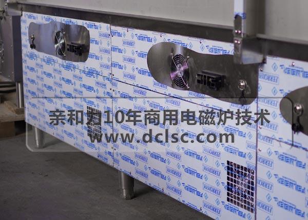 亲和力商用电磁炉背部双风口设计