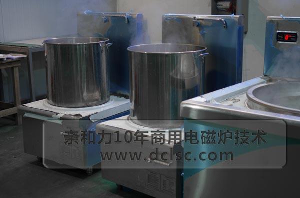亲和力超高配商用电磁高背汤炉老化测试图