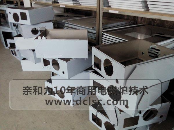 亲和力商用电磁炉厂家8千瓦电磁炒灶凹面微晶面板
