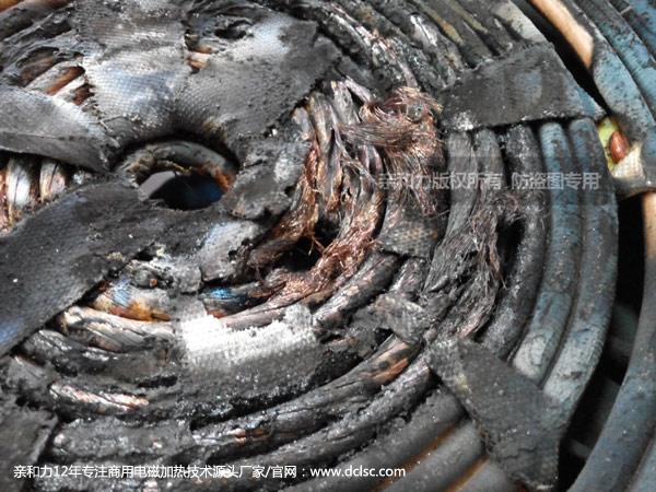 低配置劣质商用电磁炉高背汤炉线盘烧毁
