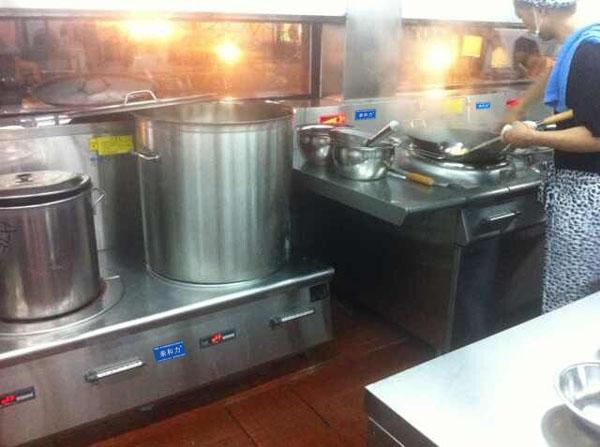 亲和力商用电磁煲汤炉 电磁高背汤炉 高汤炉